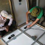 Mitarbeiter der RG Rhein Main beim Arbeitseinsatz in Kambodscha